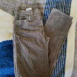Gap olive corduroy pants